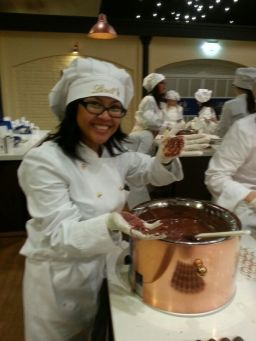 An evening at the Lindt Chocolate Factory