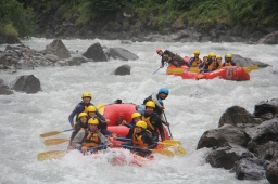 Rafting in Interlaken, Switzerland